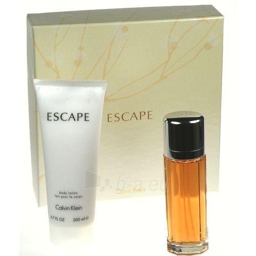 Tualetinis vanduo Calvin Klein Escape EDT 100ml moteriški (Rinkinys) Paveikslėlis 1 iš 1 250811008696