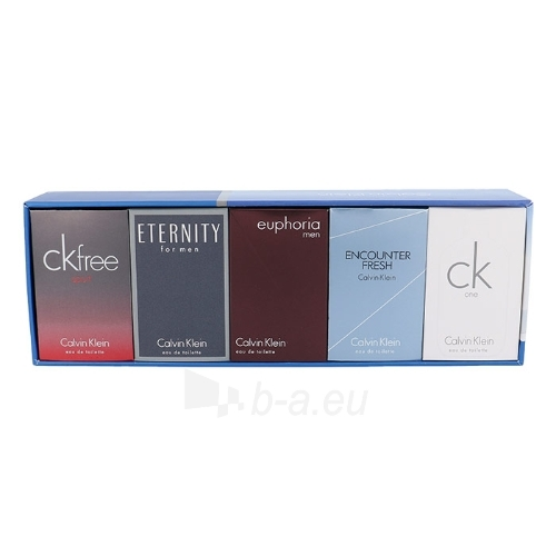 Tualetinis vanduo Calvin Klein Mix Giftset EDT 5x10ml mini rinkinys Paveikslėlis 1 iš 1 310820043210