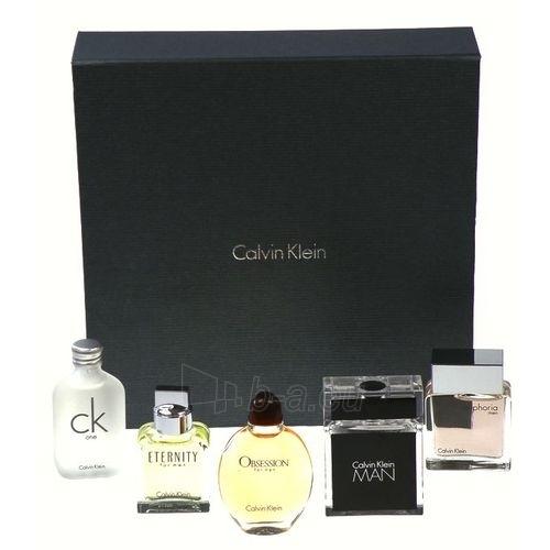 Tualetes ūdens Calvin Klein Mix Giftset EDT 5x15ml (komplekts 1) Paveikslėlis 1 iš 1 250812003558