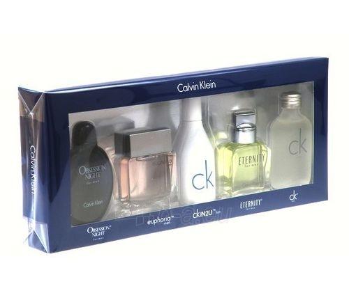 Tualetinis vanduo Calvin Klein Mix Giftset EDT vyrams 5x15ml (rinkinys 2) Paveikslėlis 1 iš 1 250812003559