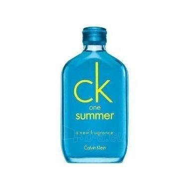 Tualetinis vanduo Calvin Klein One Summer 2008 EDT 100ml (testeris) Paveikslėlis 1 iš 1 250811005057