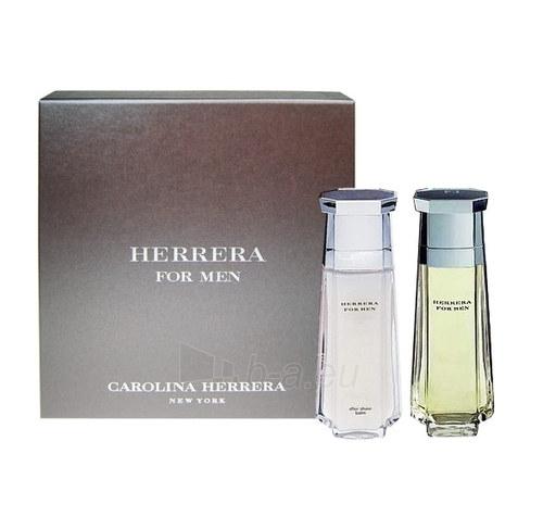 Tualetes ūdens Carolina Herrera Herrera EDT 100ml (komplekts) Paveikslėlis 1 iš 1 250812004619