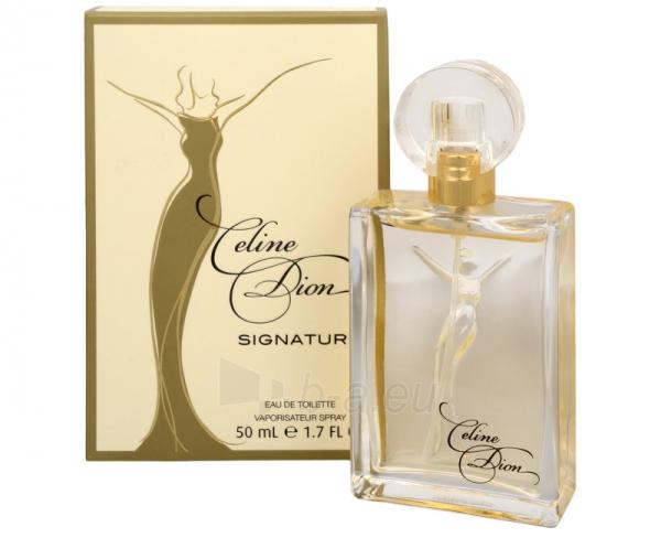 Tualetes ūdens Celine Dion Signature EDT 100ml Paveikslėlis 1 iš 1 250811013569