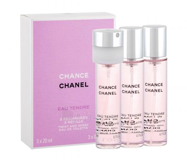 Chanel Chance Eau Fraiche EDT 3x20ml (refills) Paveikslėlis 1 iš 1  250811008771 0522c86cff