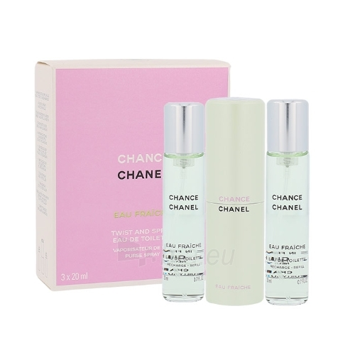 Tualetes ūdens Chanel Chance Eau Fraiche EDT 3x20ml Paveikslėlis 1 iš 1 250811012678