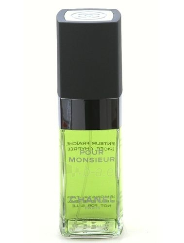 Tualetes ūdens Chanel Monsieur EDT 100ml (without spray) Paveikslėlis 1 iš 1 250812004516