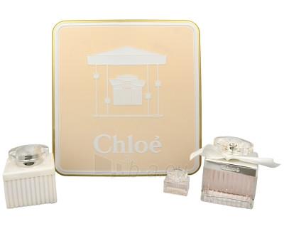 Perfumed water Chloé Chloé EDT 75 ml + kūno pienelis 100 ml + miniatura 5 ml (Set) Paveikslėlis 1 iš 1 310820066227