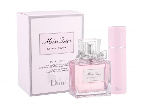 Tualetinis vanduo Christian Dior Miss Dior Blooming Bouquet 2014 Eau de Toilette 75ml (Rinkinys) Paveikslėlis 1 iš 1 310820163021