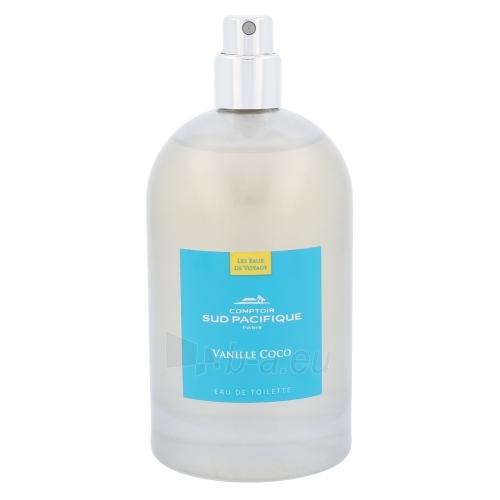 Perfumed water Comptoir Sud Pacifique Vanille Coco EDT 100ml (tester) Paveikslėlis 1 iš 1 310820045225