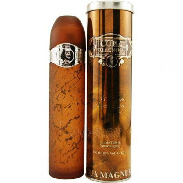 Cuba Magnum Black EDT 125ml Paveikslėlis 1 iš 1 250812001942