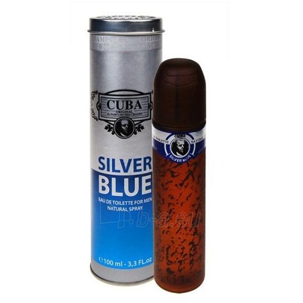 Tualetes ūdens Cuba Silver Blue EDT 100ml Paveikslėlis 1 iš 1 250812004642