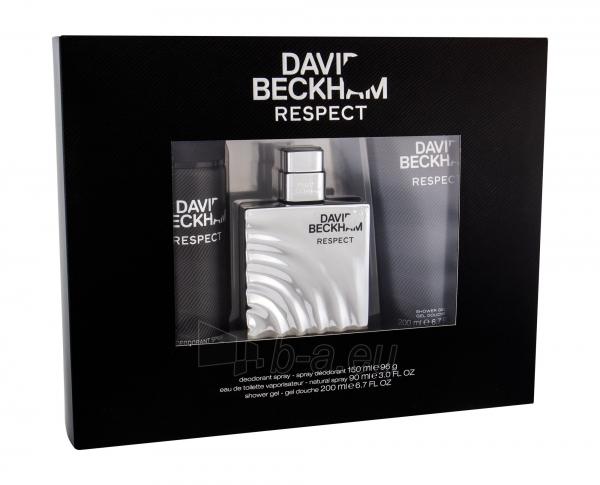 Tualetinis vanduo David Beckham Respect Eau de Toilette 90ml (Rinkinys) Paveikslėlis 1 iš 1 310820163027