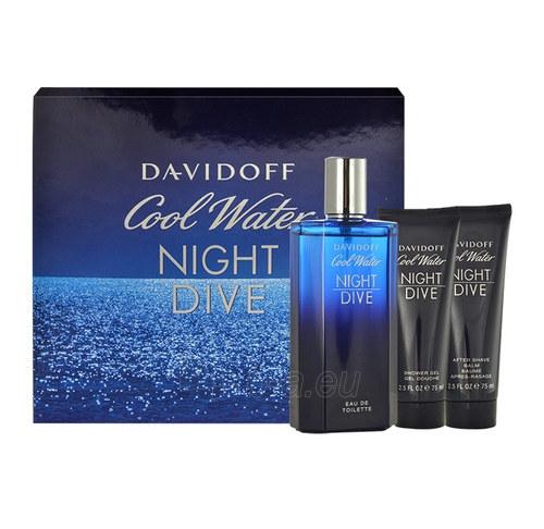 Tualetes ūdens Davidoff Cool Water Night Dive EDT 125ml (Rinkinys) Paveikslėlis 1 iš 1 310820015343