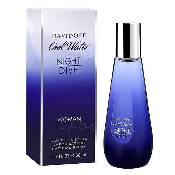 Tualetinis vanduo Davidoff Cool Water Night Dive For Women EDT 50ml Paveikslėlis 1 iš 1 250811012918
