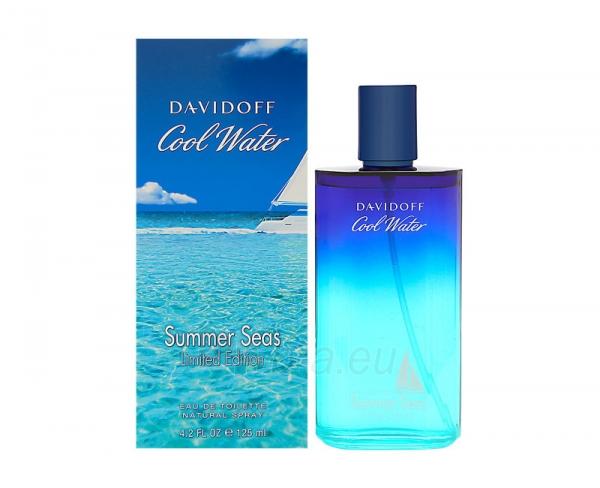 Tualetes ūdens Davidoff Cool Water Summer Seas EDT 125 ml Paveikslėlis 1 iš 1 310820041862