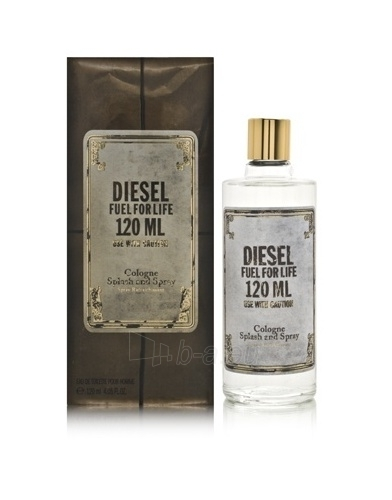 Tualetinis vanduo Diesel Fuel for life Cologne EDT 120ml Paveikslėlis 1 iš 1 250812002031