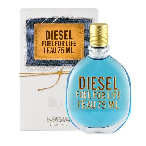 Tualetes ūdens Diesel Fuel for life L´Eau EDT 75ml (testeris) Paveikslėlis 1 iš 1 250812004858