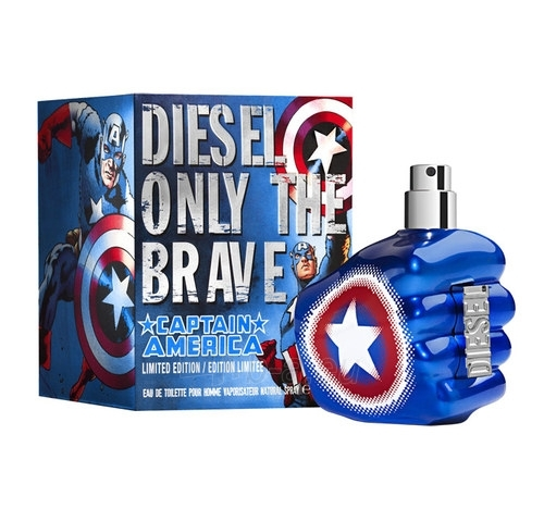 Diesel Only the Brave Captain America EDT 75ml (tester) Paveikslėlis 1 iš 1 250812004645