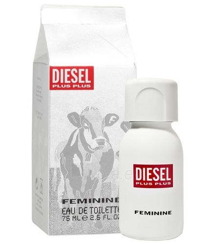 Diesel Plus Plus Feminine EDT 75ml (tester) Paveikslėlis 1 iš 1 250811005362