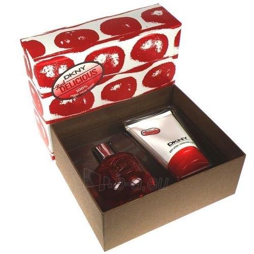 Tualetinis vanduo DKNY Red Delicious EDT 125ml (rinkinys) Paveikslėlis 1 iš 1 250811005427