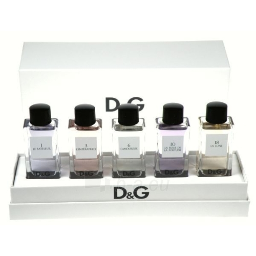 Dolce & Gabbana Anthology Collection EDT 5x20ml Paveikslėlis 1 iš 1 250811005431