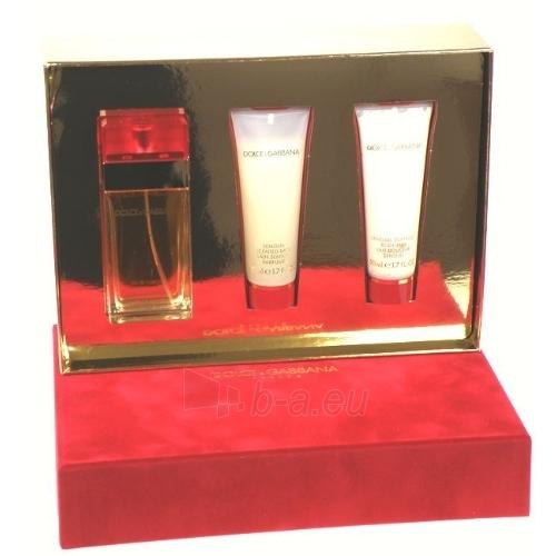 Tualetinis vanduo Dolce & Gabbana Femme EDT 50ml (rinkinys 3) Paveikslėlis 1 iš 1 250811009205