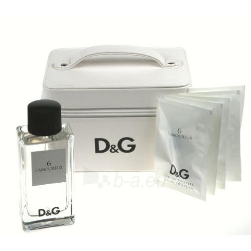 Tualetinis vanduo Dolce & Gabbana L´amoureux 6 EDT 100ml (rinkinys) Paveikslėlis 1 iš 1 250812002077