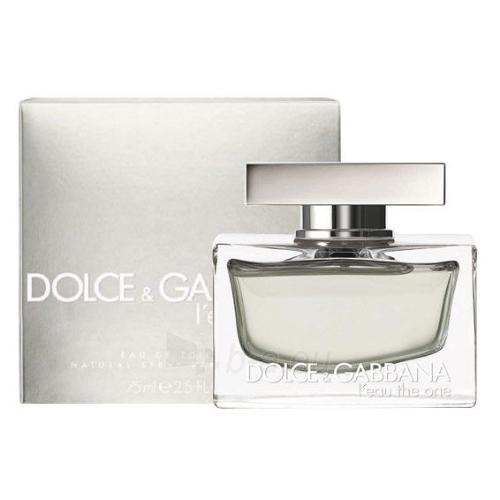 Tualetes ūdens Dolce & Gabbana L´Eau The One EDT 50ml (testeris) Paveikslėlis 1 iš 1 250811005459
