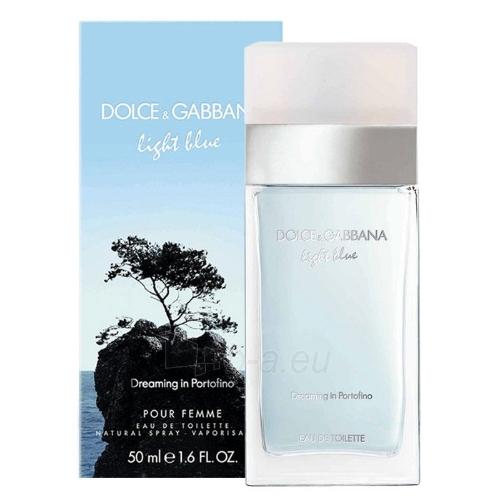 Dolce & Gabbana Light Blue Dreaming in Portofino EDT 100ml (tester) Paveikslėlis 1 iš 1 250811005447
