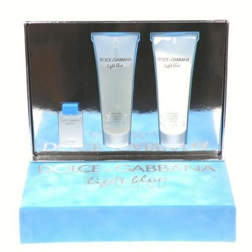Dolce & Gabbana Light Blue EDT 4,5ml (Set) Paveikslėlis 1 iš 1 250811009046