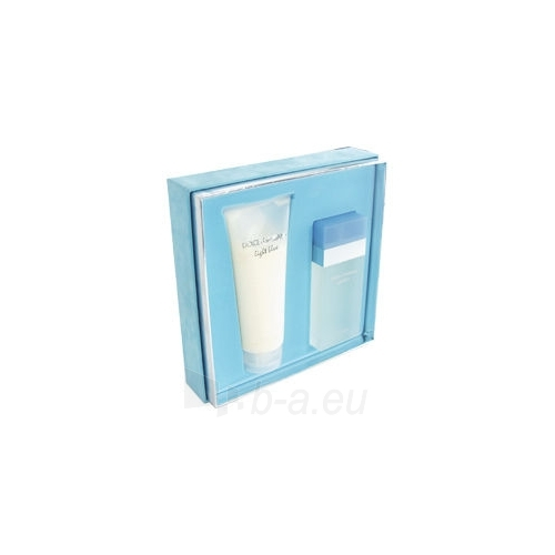 Tualetes ūdens Dolce & Gabbana Light Blue EDT 50ml (komplekts 4) Paveikslėlis 1 iš 1 250811009195