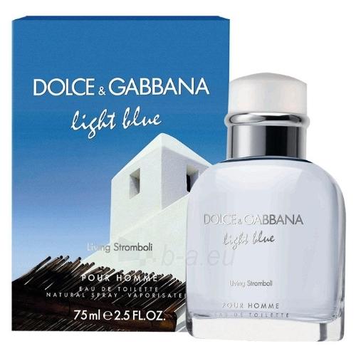 Tualetes ūdens Dolce & Gabbana Light Blue Living Stromboli EDT 125ml (testeris) Paveikslėlis 1 iš 1 250812002071