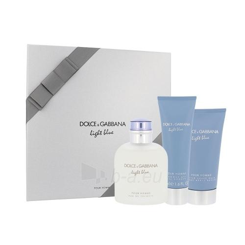 Dolce & Gabbana Light Blue Pour Homme EDT 125ml (set 3) Paveikslėlis 1 iš 1 250812004530