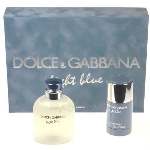 Dolce & Gabbana Light Blue Pour Homme EDT 125ml (set) Paveikslėlis 1 iš 1 250812002073
