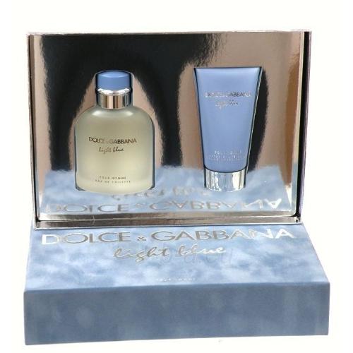 Tualetes ūdens Dolce & Gabbana Light Blue Pour Homme EDT 125ml (komplekts) Paveikslėlis 1 iš 1 250812003690
