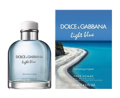 Tualetinis vanduo Dolce & Gabbana Light Blue Swimming In Lipari Pour Homme EDT 75 ml Paveikslėlis 1 iš 1 2508120002871