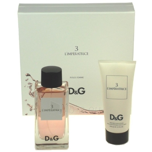 Tualetinis vanduo Dolce & Gabbana L´imperatrice 3 EDT 100ml (Rinkinys 1) Paveikslėlis 1 iš 1 250811005460