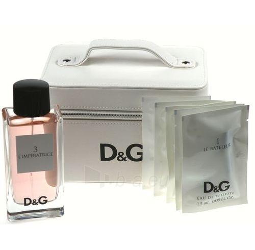 Tualetes ūdens Dolce & Gabbana L´imperatrice 3 EDT 100ml (komplekts) Paveikslėlis 1 iš 1 250811009048