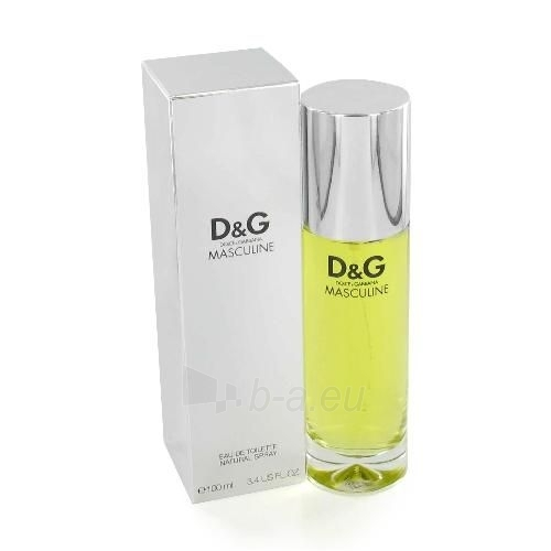 Dolce & Gabbana Masculine EDT 100ml (tester) Paveikslėlis 1 iš 1 250812002079