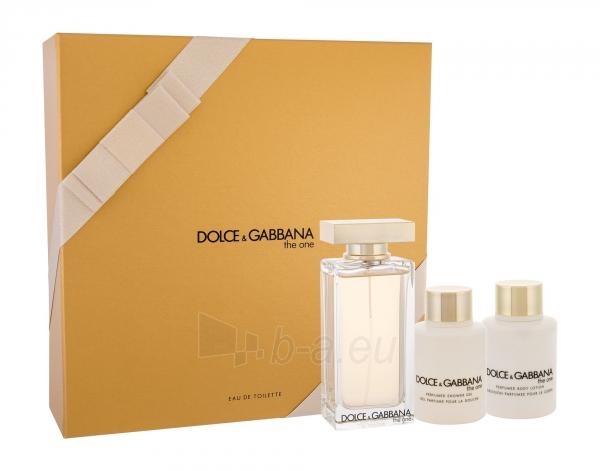 Tualetinis vanduo Dolce&Gabbana The One Eau de Toilette 100ml (Rinkinys 3) Paveikslėlis 1 iš 1 310820158046