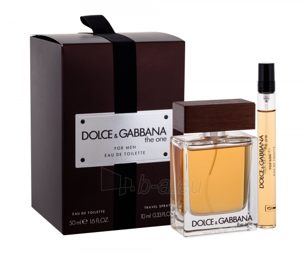 Tualetinis vanduo Dolce&Gabbana The One For Men Eau de Toilette 50ml (Rinkinys) Paveikslėlis 1 iš 1 310820159166