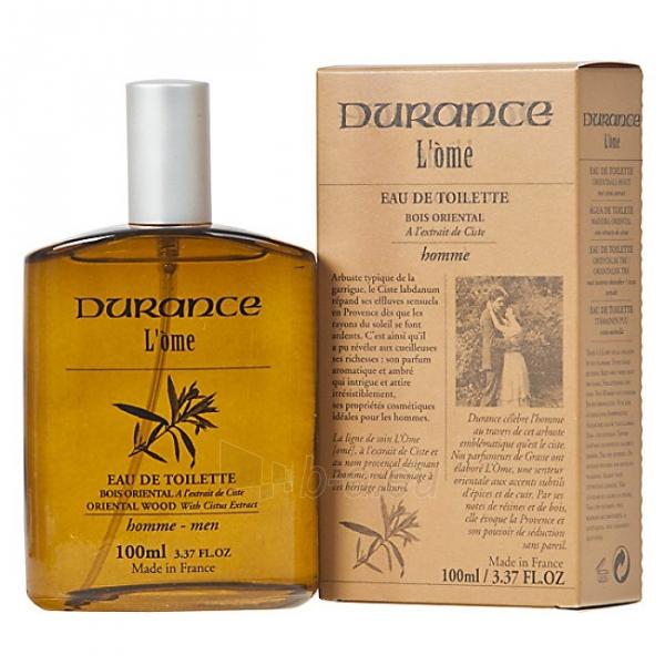 eau de toilette Durance L´Ome Orientální dřevo EDT 100 ml Paveikslėlis 1 iš 1 310820104497