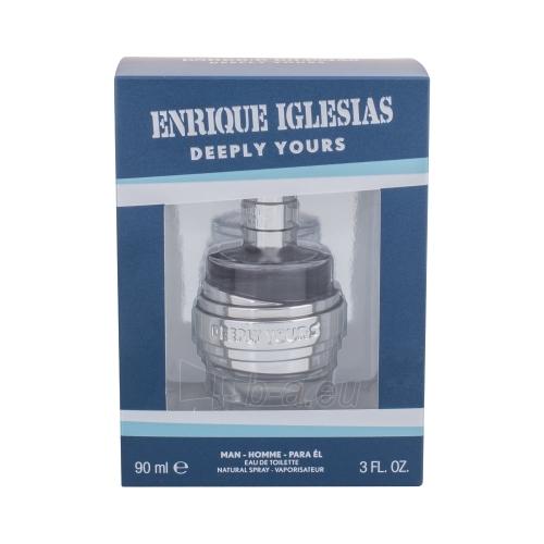 Tualetes ūdens Enrique Iglesias Deeply Yours EDT 90ml Paveikslėlis 1 iš 1 2508120002640
