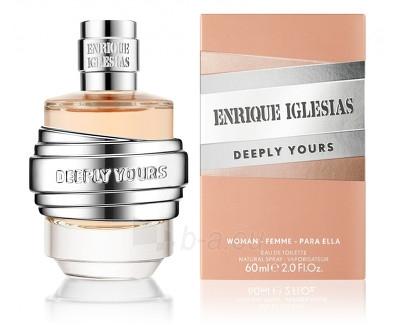 Tualetes ūdens Enrique Iglesias Deeply Yours Woman EDT 60 ml Paveikslėlis 1 iš 1 310820013780