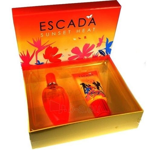 Tualetinis vanduo Escada Sunset Heat EDT 100ml (Rinkinys) Paveikslėlis 1 iš 1 250811009078