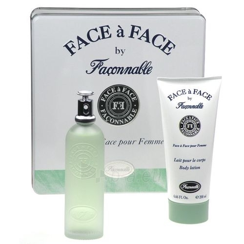 Tualetes ūdens Faconnable Face a Face EDT 100ml (komplekts) Paveikslėlis 1 iš 1 250811009092