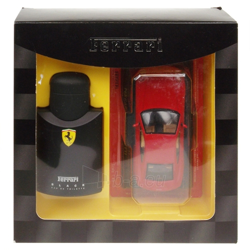Tualetinis vanduo Ferrari Black Line EDT 75ml (rinkinys) Paveikslėlis 1 iš 1 250812004535
