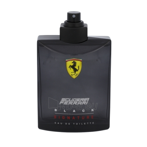Tualetes ūdens Ferrari Black Signature EDT 125ml (testeris) Paveikslėlis 1 iš 1 250812005142
