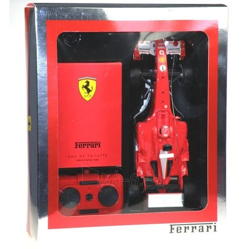 Tualetes ūdens Ferrari Red EDT 125ml (komplekts) Paveikslėlis 1 iš 1 250812003745