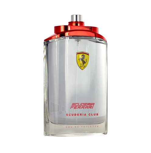 eau de toilette Ferrari Scuderia Club EDT 125ml (tester) Paveikslėlis 1 iš 1 2508120002625